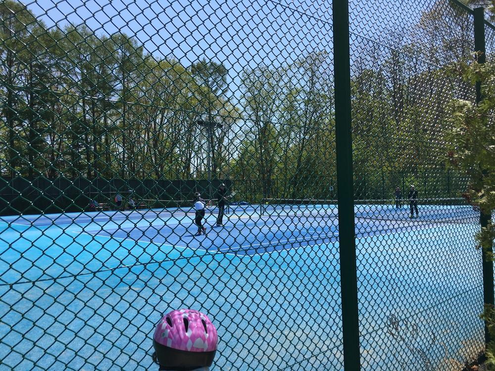 月寒公園 テニスコート
