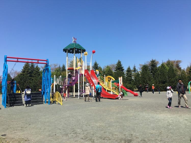川下公園、遊具コーナー