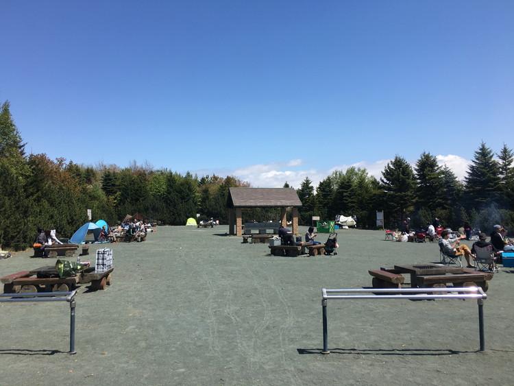 川下公園、バーベキューコーナー