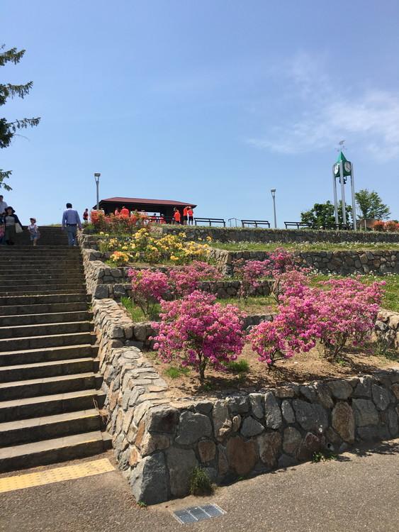 旭山記念公園 展望台