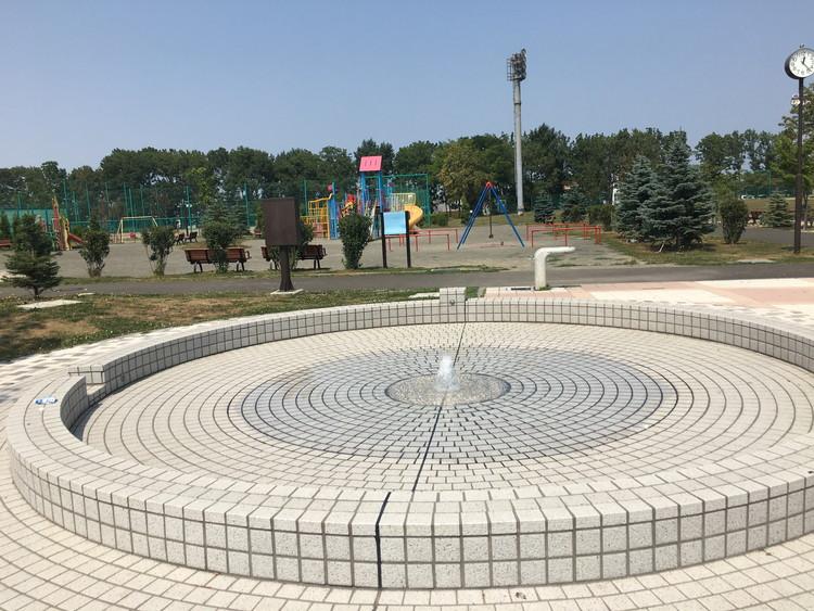 北郷公園 水遊び場